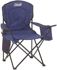 Coleman Portable Camping Quad Chair with 4-Can Cooler,NEW FREE 100% SHIPPING
