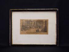 Jacques CALLOT (1592-1635) grabado antigua Radierungen acquaforte grabado
