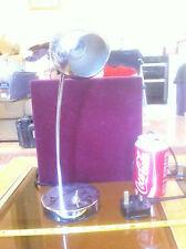 Silver Stainless Steel Desk Light Adjustable Lamp