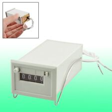 AC 220V CSK4-DKW 4 Digits Totalizer Electromagnetic Pulse Counter