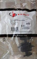 Siemon RIC-F-SC12-01 Fiber Adapter Plate, 12 fiber, SC Black