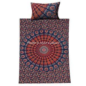 Indian Mandala Duvet Doona Quilt Bohemian Bedding Single Comforter Quilts
