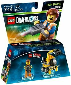LEGO Dimensions The Lego Movie Emmet Fun Pack Set - 71212 - Sealed - New