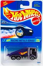 Hot Wheels No. 337 Racing Metals Series #2 Ramp Truck Lavender Chrome New 1995