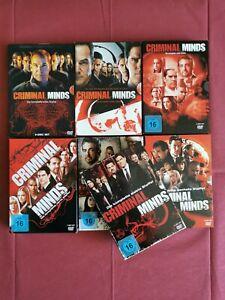 Dvd Criminal Minds Staffel 1 - 7 Top Zustand