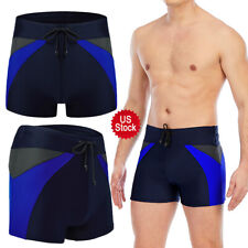 Men's Beach Swimming Swim Board Shorts Boxer Trunks Briefs Swimwear Underwear LZ