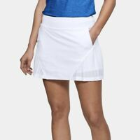 UNDER ARMOUR UA Links Knit Mesh White Golf Skort Skirt w/ Shorts NEW Womens XS
