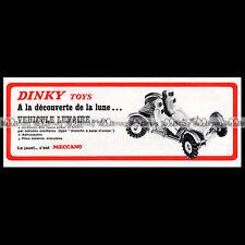DINKY TOYS 1972 VEHICULE LUNAIRE LUNAR ROVING VEHICLE APOLLO (355) Pub Ad #E124