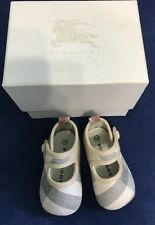 Burberry Children Baby Infant Girls Shoes Classic Check Print Size 15