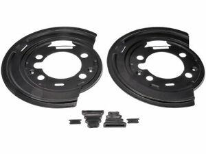 For 2007-2014 GMC Sierra 3500 HD Brake Backing Plate Rear Dorman 31799KM 2008
