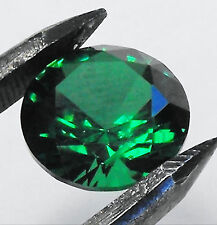 Excellent Cut Round Loose Emeralds
