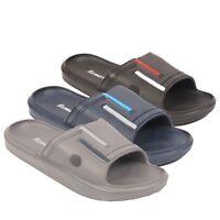 Men's Sports Sliders Flip Flops Summer Gym Pool Sandals Pool Beach Shoes Slides