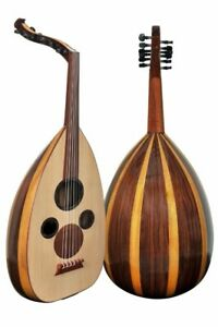 "New !!Professional Arabic Oud ""The Arabian Nights"" #AU2-CI with Soft Carry Case"