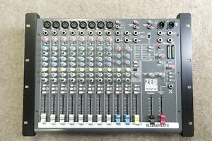 Allen & Heath audio mixer 10 channel in use til April 2021