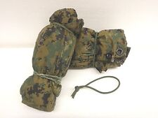 USMC Military MARPAT Reversible Digital Woodland/Coyote Brown Field Tarp Grade A