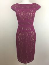 Adrianna Papell Women's Purple Dress Size 4