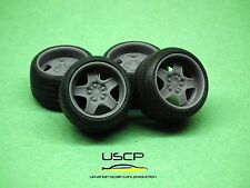 1/24 wheels 16 inch Banded Steels Opel stance tires for Tamiya Aoshima Hasegawa