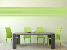 WANDTATTOO ++ 110cm ++ Stripes ++ Streifen ++ Bordüre ++ Farbwahl