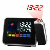 Projektion Funk Funkuhr Funkwecker Reisewecker Uhr Datum Wecker Alarm Digital