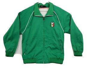 Vintage Mexico National Team Full Zip Soccer Track Jacket Mens Size XXL 2XL