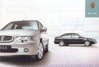 4011RO Rover 45 Prospekt 2003 3/03 deutsche Ausgabe brochure prospectus