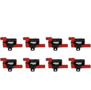 MSD 82638 Blaster LS Direct Ignition Coil Set For 07 GMC Sierra 3500 6.0L NEW