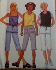 BUTTERICK SEPARATES GIRLS SEWING PATTERN 6563- SIZES 7-10 NEW