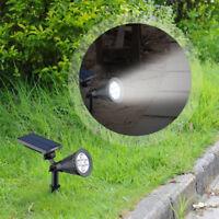 EMTEQ Al Aire Libre Jardín solar LED Luz jardín césped Lámpara Paisaje Foco