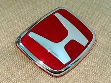 1PCS JDM RED EMBLEM BADGE FOR ACCORD CIVIC CRX PRELUDE S2000 INTEGRA