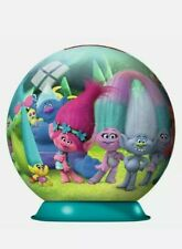 Trolls 72 Piece 3D Jigsaw Puzzle Ball *New other *