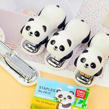Panda Segreteria Studenti Piccolo mini scuola Casa documento cartaceo pinzatrice
