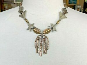 Mary & Doug Hancock Handcrafted Exotic Mixed Metals Necklace