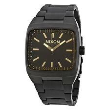 Nixon Manual Black Dial Matte Black Mens Watch A244-1354