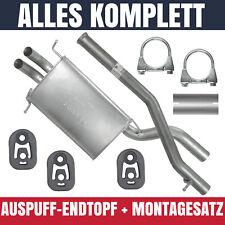 Endschalldämpfer Auspuff Endtopf Mercedes C Klasse C200 C220 W203 T203 S203 2.2