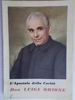 storia biografia Don Luigi Orione L'apostolo della carità1954 ida Marcora 14