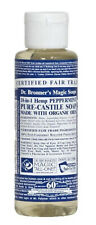Dr Bronner's / Bronners 18-In-1 Hemp Peppermint Pure-Castile Soap 4 oz Organic