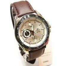 Casio EF-336L-7 Analog Edifice Gents Dress White Watch 100% Original New