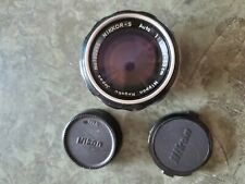 NIKKOR-S 5.8mm 1.4 AI converted Excellent Condition!