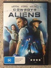 Cowboys & Aliens - Daniel Craig , Harrison Ford - Like New R4 DVD