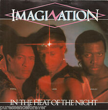 "IMAGINATION - In The Heat Of The Night (UK 2 Tk 1982 7"" Single PS)"