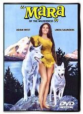 Mara of the Wilderness 1965 DVD - Adam West, Linda Saunders, Theodore Marcuse