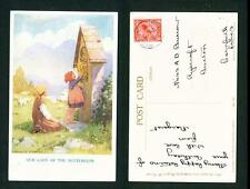 CHILDREN – OUR LADY OF THE BUTTERCUPS – TARRANT – USED CANCEL 1931