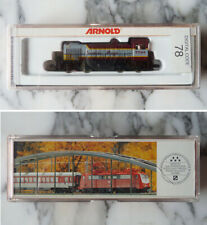 ARNOLD N-scale S-2 SWITCHER diesel TRAIN engine LOCOMOTIVE Canadian Pacific 7098