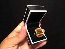 Bague femme réglable Argent 925 avec Oeil de tigre / Silver Adjustable ring!!