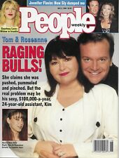 ROSEANNE BARR & TOM ARNOLD May 2, 1994 PEOPLE WEEKLY Magazine + Courtney Love