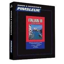 Pimsleur  Italian 3 CDs : Learn to Speak and Understand Italian