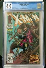 Uncanny X-Men #266 (1990) CGC 8.0 OW/White FIRST APPEARANCE OF GAMBIT!!!!!