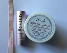 Fresh MINI Set:  Sugar Rose Lip Treatment SPF 15 (2.2g) + Rose Face Mask (20ml)