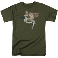 LUCKY LADY WWII Nose Art Adult T-Shirt All Sizes