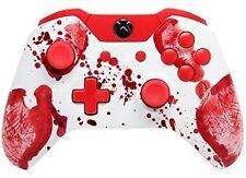 """Bloody Hands"" Xbox One Rapid Fire Modded Controller, COD WW2 IW BO3, Destiny"